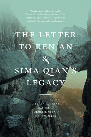The Letter to Ren An and Sima Qian's Legacy book image