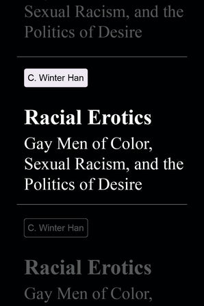 Racial Erotics book image