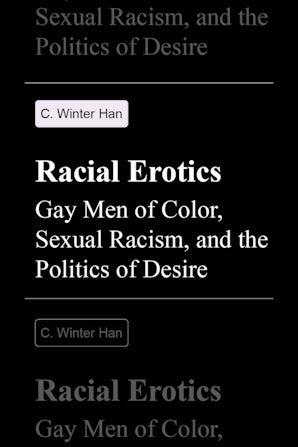 Racial Erotics book image