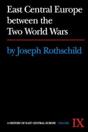 East Central Europe between the Two World Wars book image