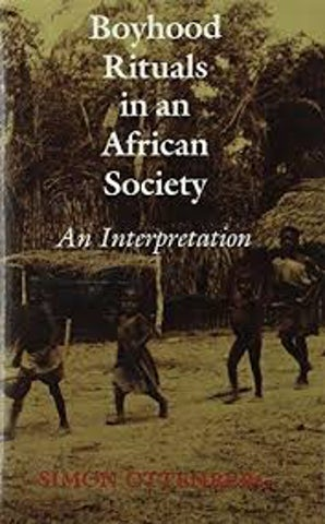Boyhood Rituals in an African Society book image