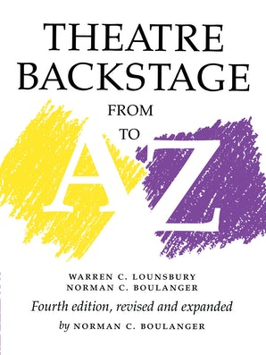 Theatre Backstage from A to Z book image