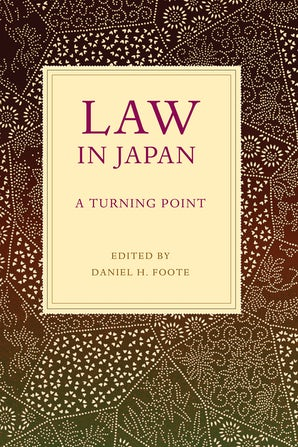 Law in Japan book image
