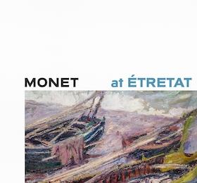 Monet at Étretat